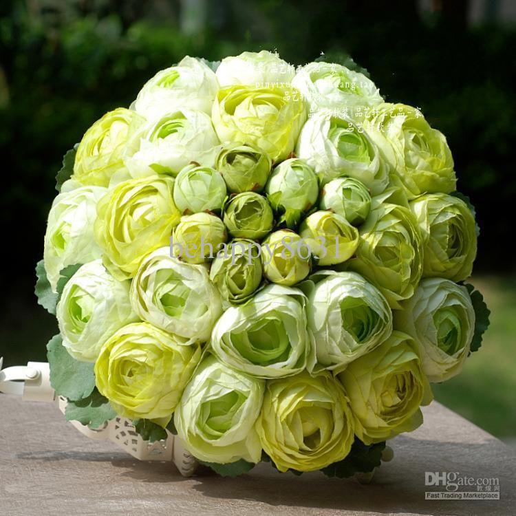 light green color tea rose bouquets for wedding fitri 39 s. Black Bedroom Furniture Sets. Home Design Ideas